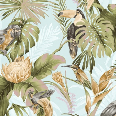 Papel Pintado Tropical - TROPPO 02 | MURAKE - 80227