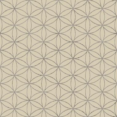 Papel Pintado Flor Geométrica - MASCO 01 | MURAKE - 80270