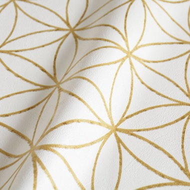 Papel Pintado Flor Geométrica - MASCO 03 | MURAKE - 80272