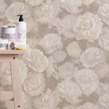Papel Pintado Floral - NAPSID 204733 | MURAKE - 204733