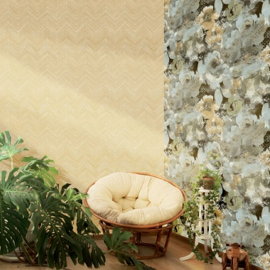 Papel Pintado Flores - KUKAT 01 | MURAKE - 80241
