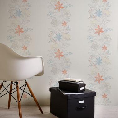Papel Pintado Flores - RAUMA 01 | MURAKE - 457532