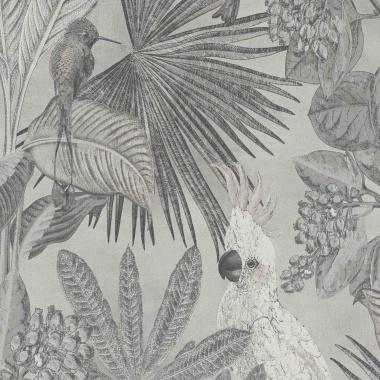 Papel Pintado Tropical|Cacatúas|Vegetación - KAKUT 01 | MURAKE - 102220