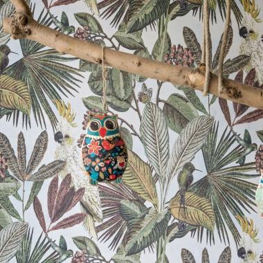 Papel Pintado Tropical|Cacatúas|Vegetación - KAKUT 03 | MURAKE - 102222
