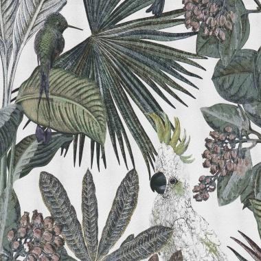 Papel Pintado Tropical|Cacatúas|Vegetación - KAKUT 06 | MURAKE - 102225
