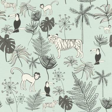 Papel Pintado Animales - GUNLA 01   MURAKE - 81350