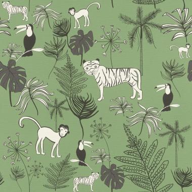 Papel Pintado Animales - GUNLA 02 | MURAKE - 81351