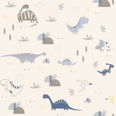 Papel Pintado Dinosaurios - DINOZO 02 | MURAKE - 39424