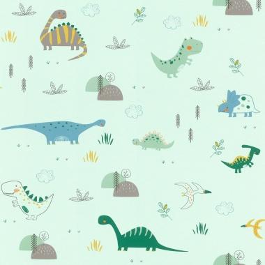 Papel Pintado Dinosaurios - DINOZO 01   MURAKE - 39423