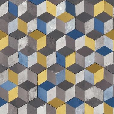 Papel Pintado Cubos 3D - HARLAU 02 | MURAKE - 266632