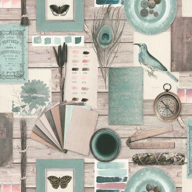 Papel Pintado Collage - CAIRON    MURAKE - 186631