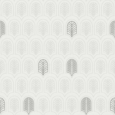 Papel Pintado Hoja Geométrica - FRAMURA 01 | MURAKE - 386731