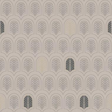 Papel Pintado Hoja Geométrica - FRAMURA 02 | MURAKE - 386732