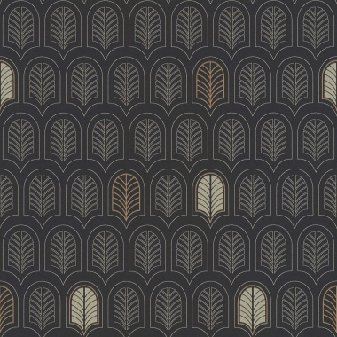 Papel Pintado Hoja Geométrica - FRAMURA 03 | MURAKE - 386733
