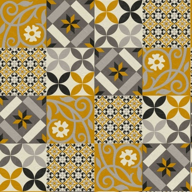 Papel Pintado Azulejo - GAIBA 01 | MURAKE - 486731