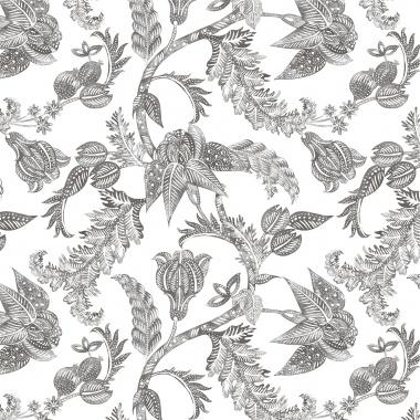 Papel Pintado Flores - XIAMEN 08 | MURAKE - 85317