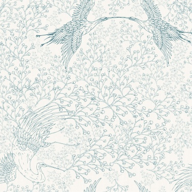 Papel Pintado Grullas - NANKIN 01 | MURAKE - 85340
