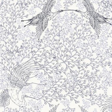 Papel Pintado Grullas - NANKIN 02 | MURAKE - 85341