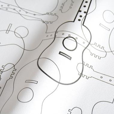 Papel Pintado Guitarras - GITARIS 01 | MURAKE - 16130