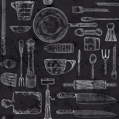 Papel Pintado Utensilios Cocina - GUTEKA 03 | MURAKE - 16143