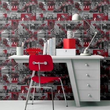 Papel Pintado Collage - FLEET  | MURAKE - 52019