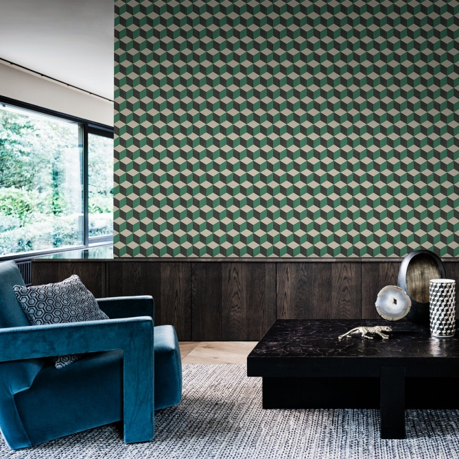 Papel Pintado Cubos 3D - CEDEC 05 | MURAKE - 302264