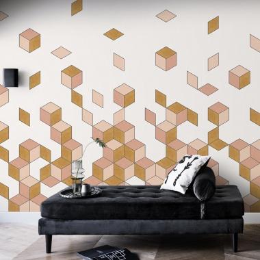 Mural Caída Cubos - DAMRAK 01 | MURAKE - 54021