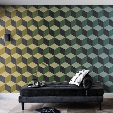 Mural Cubos 3D - ENBEK 02 | MURAKE - 14022