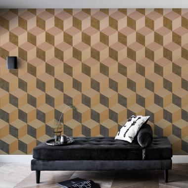 Mural Cubos 3D - ENBEK 04 | MURAKE - 14024