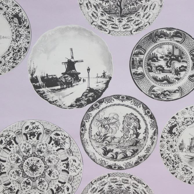 Papel Pintado Platos Antiguos - BRAKEL   MURAKE - 25741