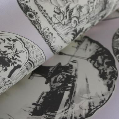 Papel Pintado Platos Antiguos - BRAKEL | MURAKE - 25741