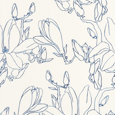 Papel Pintado Magnolias - HEBAT 03 | MURAKE - 22833