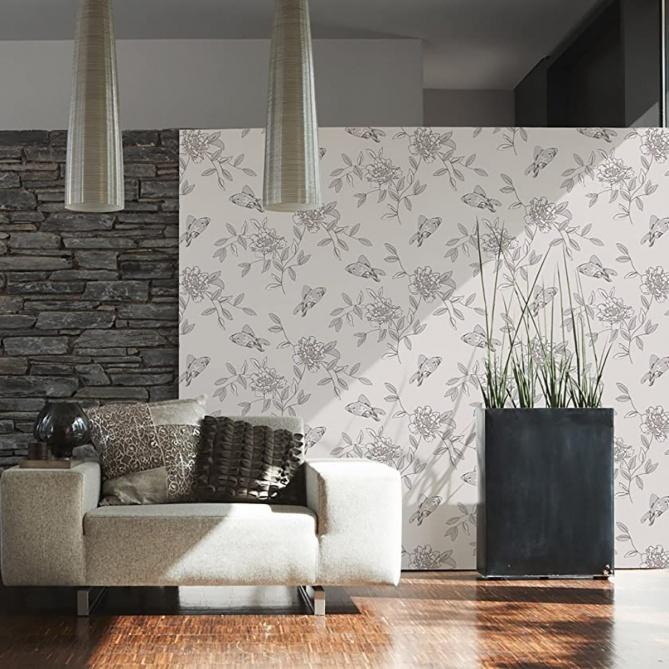 Papel Pintado Floral - VISEU  | MURAKE - 82591