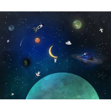 Mural Espacio - RUMTE  | MURAKE - 40801