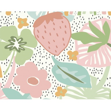 Mural Fresa Grande - ZEMNES 02 | MURAKE - 40402