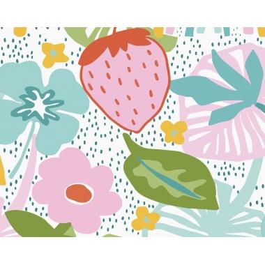 Mural Fresa Grande - ZEMNES 01 | MURAKE - 40401
