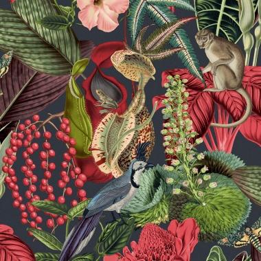 Papel Pintado Selva - COTUI 01   MURAKE - 15611