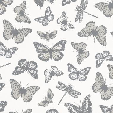 Papel Pintado Mariposas - XIMELE 01   MURAKE - 17601