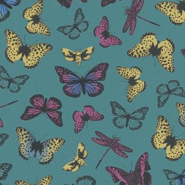 Papel Pintado Mariposas - XIMELE 02   MURAKE - 17602