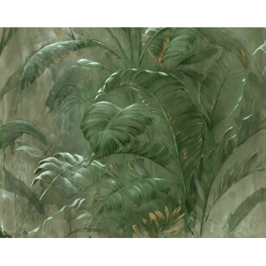 Mural Hoja Tropical - CHENCHA 01 | MURAKE - 40032