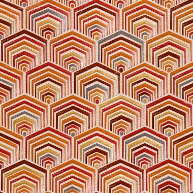 Papel Pintado Geométrico - POLUXO 05   MURAKE - 21235
