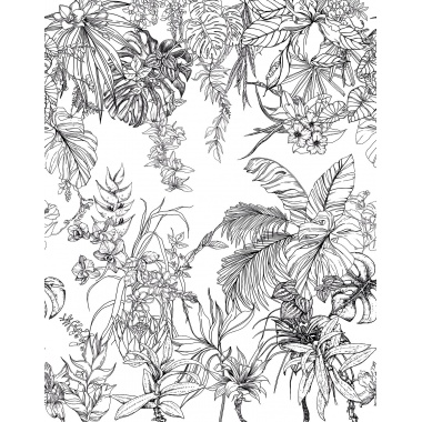 Papel Pintado de impresión digital Palmera Tropical - BALAVO 72381 | MURAKE - 72381