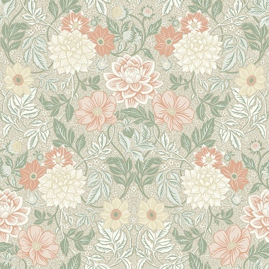 Papel Pintado Floral - STROM 02   MURAKE - 56715