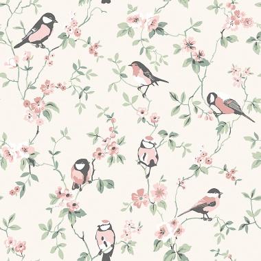 Papel Pintado Pájaros - ERTSON 02 | MURAKE - 56732