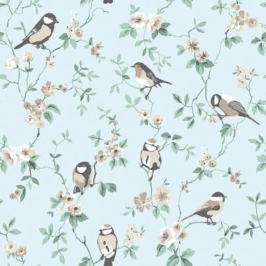 Papel Pintado Pájaros - ERTSON 01 | MURAKE - 56731