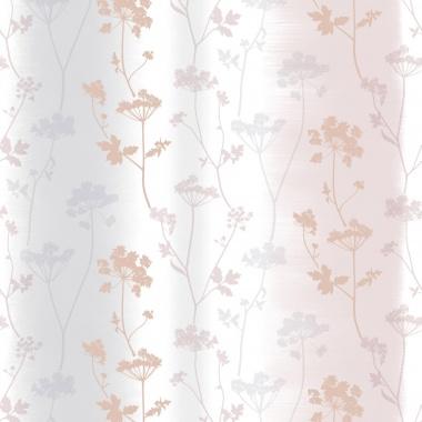 Papel Pintado Hojas sobre rayas difuminadas - LETWA 03 | MURAKE - 46013