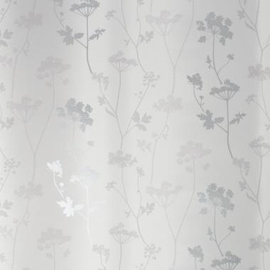 Papel Pintado Hojas sobre rayas difuminadas - LETWA 01 | MURAKE - 46011
