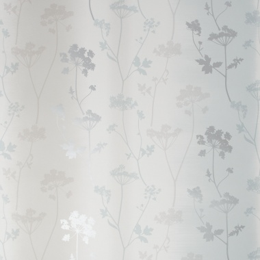 Papel Pintado Hojas sobre rayas difuminadas - LETWA 04 | MURAKE - 46014