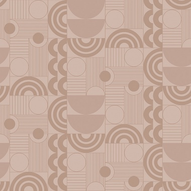 Papel Pintado Semicirculos - ABISKO 01 | MURAKE - 50307
