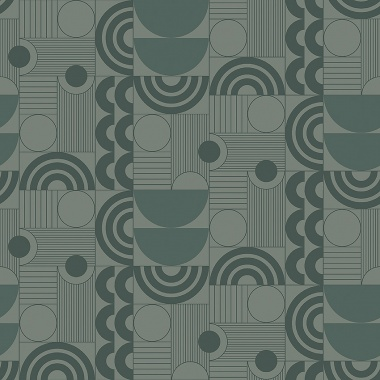Papel Pintado Semicirculos - ABISKO 02 | MURAKE - 50308